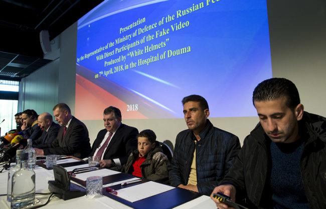 Den Haag - Briefing OPCW Russia - Syria